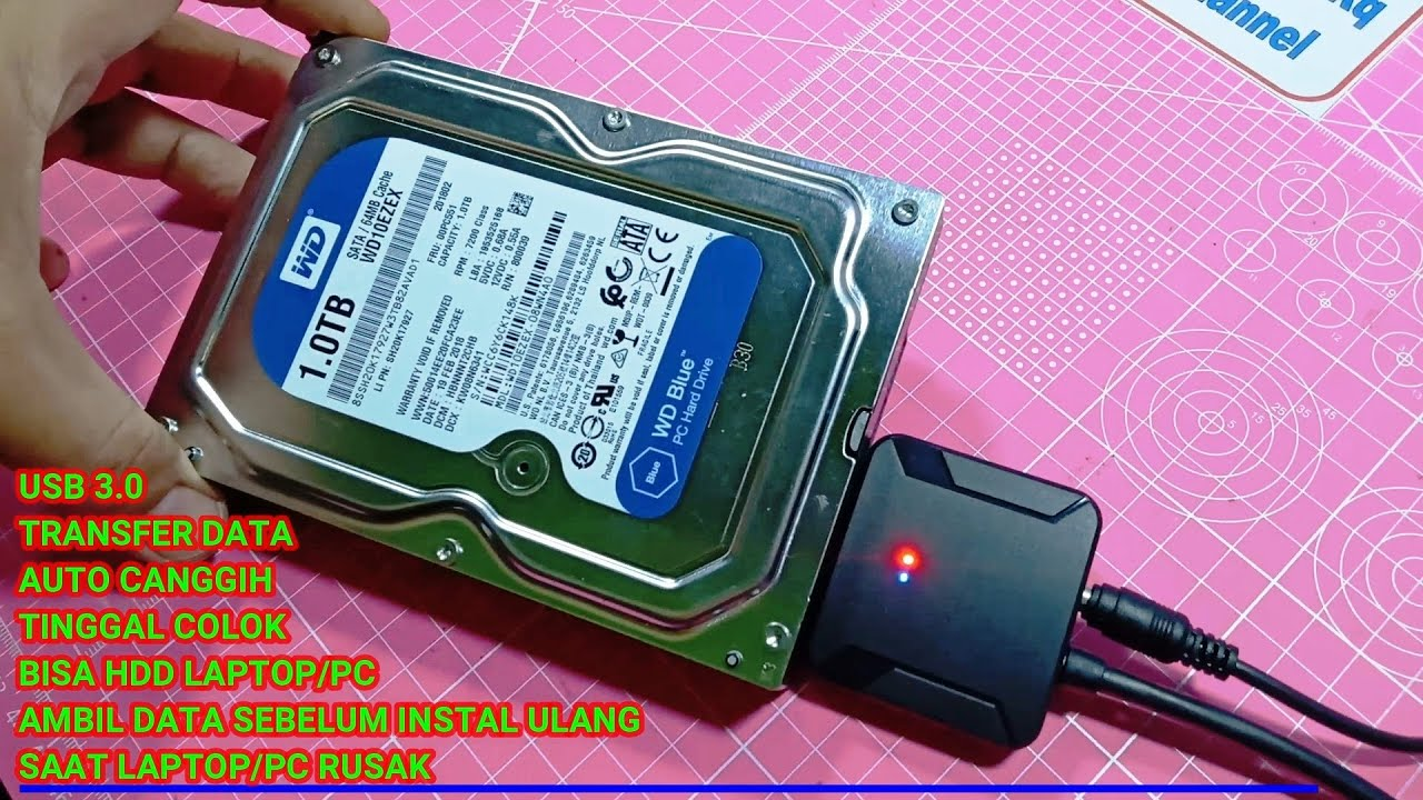 Alat Pembaca Hardisk Laptop Pc Cocok Untuk Membuat Hardisk External Youtube