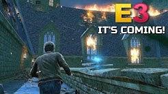 E3 2019 HYPE - The Open-World Harry Potter Game!