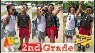 Our First Day of 2nd Grade! |GRWM FOR SCHOOL|