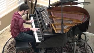 """Summer"" Calvin Harris Piano Cover by Ryan Jones"