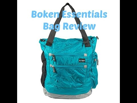 Boken Essentials Bag Review and Packing Video