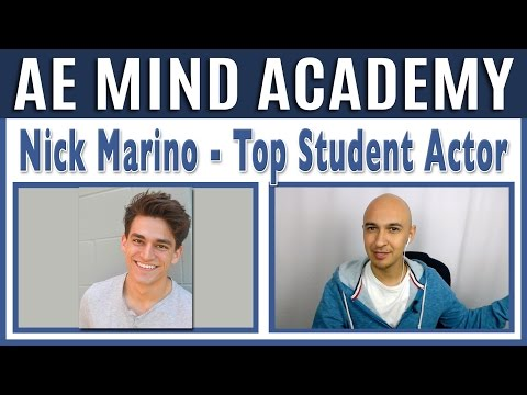 🔥 Memorizing Script Lines w/ Top Student Actor, Nick Marino | Luis Angel Staying Focused Interview