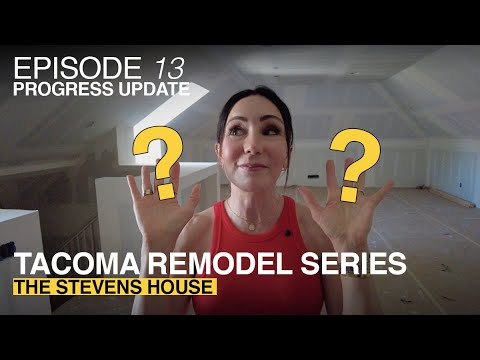 Anne Curry Homes | The Stevens House - Episode 13 | PROGRESS UPDATE