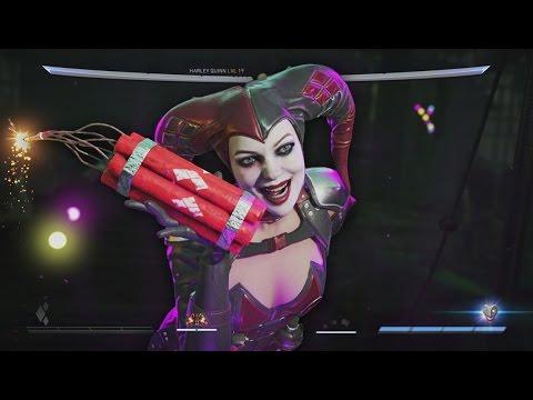 BRAH! 1ST ONLINE RANKED MATCH! Injustice 2 Gameplay (Harley Quinn GAMEPLAY)