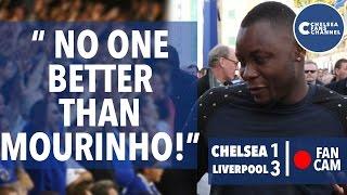 No One Better Than Mourinho | Chelsea 1-3 Liverpool | Goals: Ramires, Coutinho, Benteke | Fan Cam