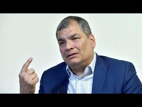 """Rafael Correa: """"Si no renuncia Evo Morales habría habido un baño de sangre"""""""