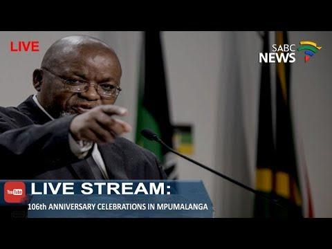 Mantashe addresses 106th Mpumalanga Provincial celebrations: 10 Feb 2018