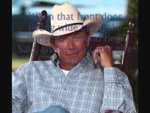 Give It Away~George Strait (Lyrics)