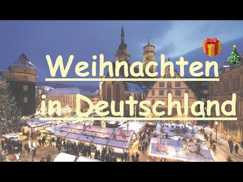 Christmas in Germany🎄🎁 What do you need to know?|| Weihnachten ...