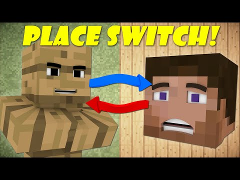 Thumbnail: If Players And Blocks Switched Places - Minecraft