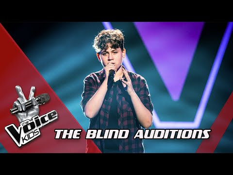 Connor - 'You Are The Reason' | Blind Auditions | The Voice Kids | VTM