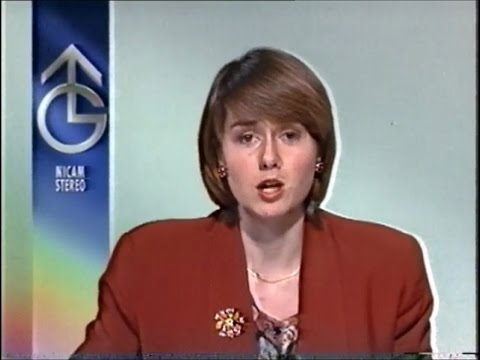 Granada - Continuity, Adverts, ITN News Summary & Weather - 1993
