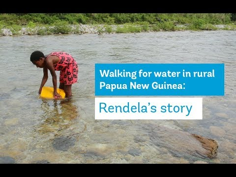 Walking for Water in Rural Papua New Guinea: Rendela's Story