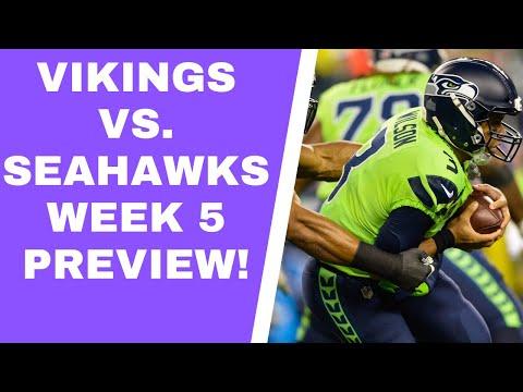 Minnesota Vikings vs. Seattle Seahawks: NFL Week 5 preview