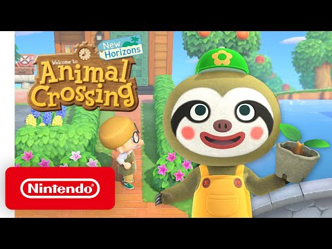 Animal Crossing: New Horizons - April Free Update - Nintendo Switch
