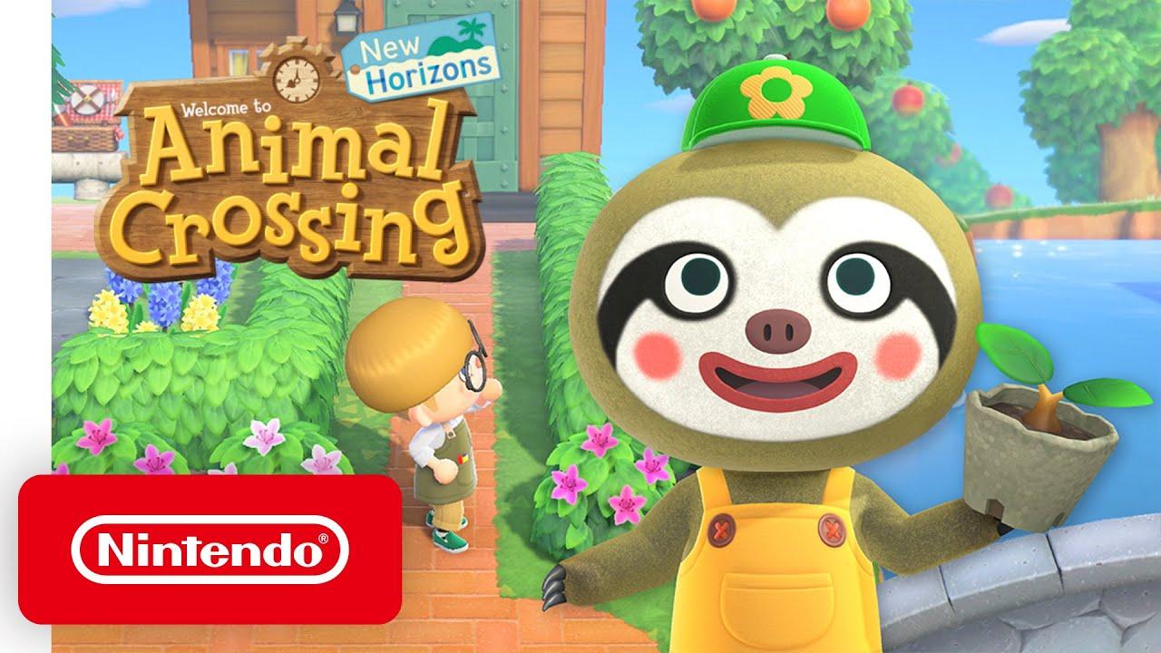 Animal Crossing: New Horizons - April Free Update