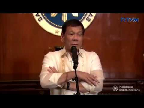 Pres. Duterte answers questions about BAUTISTA, PNOY, POE, PAROJINOG