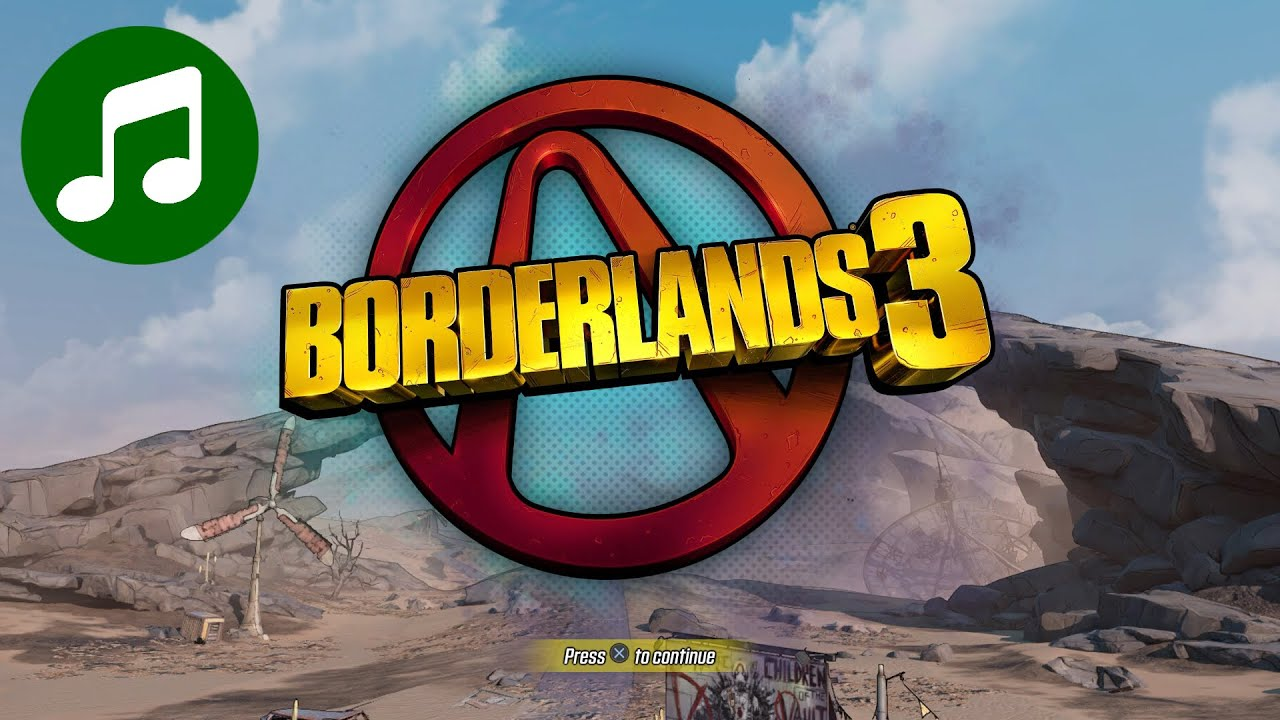BORDERLANDS 3 Ambient Music & Ambience 🎵 Title Screen ...