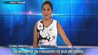 Fiori: al menos 20 muertos en incendio de bus interprovincial (2/2)