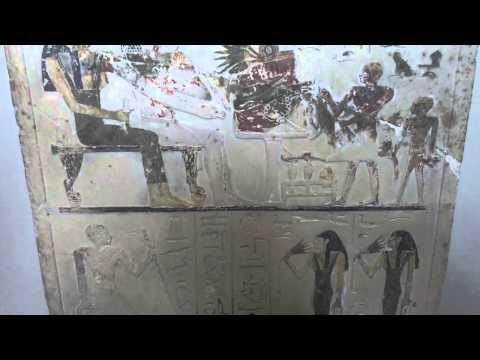 Stela of Ity King Sesostris I 12th Dynasty c. 1960 BC Egypt British Museum London