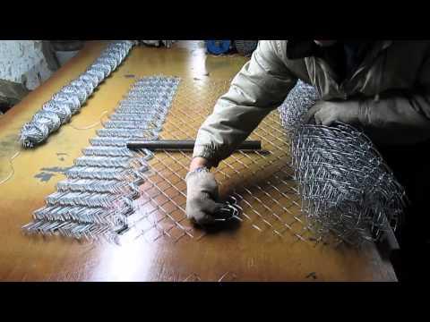 Станок для плетения сетки рабицыиз YouTube · Длительность: 19 мин22 с