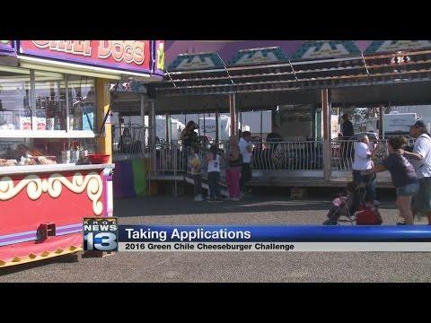 New Mexico State Fair announces annual green chile cheeseburger contest