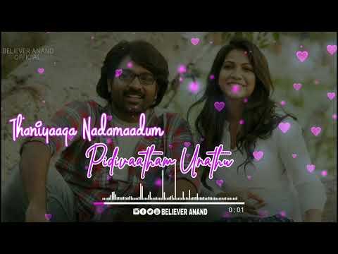 Oxygen Thanthalae 💞Kavan Movie 💕Hip Hop Tamizha Status 💞Love Whatsapp Status Tamil 😘 Believer 💞