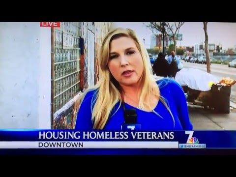 (Part 1) NBC San Diego Veteran Homelessness - Embrace - Sean Sheppard - www.Embrace1.org