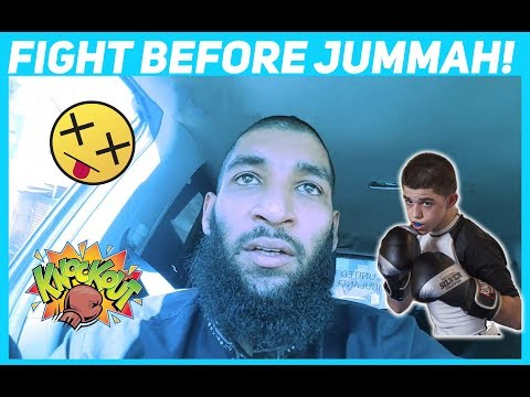 VLOG 1 - FIGHT BEFORE JUMMAH IN SYRIA