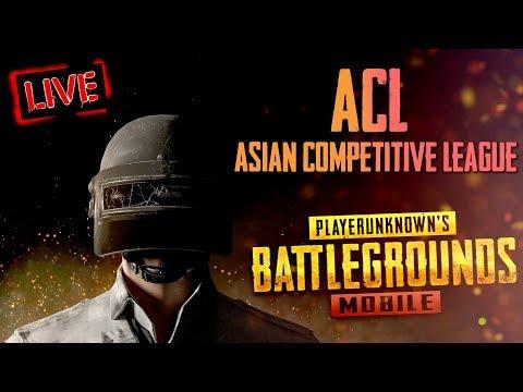 ACL(Asian Competitive League) 🔥 PUBG Mobile | K18