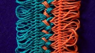 Вязание на вилке. Соединение лент(Пряжа и товары для рукоделия - http://ppv.alipromo.com/ru/needlework.php?hash=o1cq1ajmwm8g6fygy5gyxcggwous232e&sub=youtube Рассмотрим ..., 2016-01-31T09:30:00.000Z)