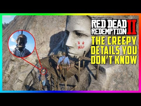 The DARK & CREEPY Secrets Of The Giant Face On The Mountain You Don't Know In Red Dead Redemption 2! thumbnail