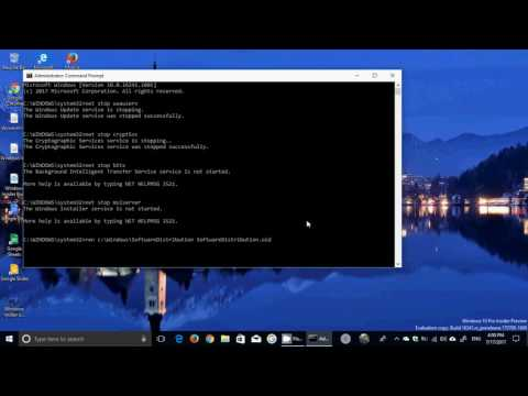Windows update fix for failed install or no install at all