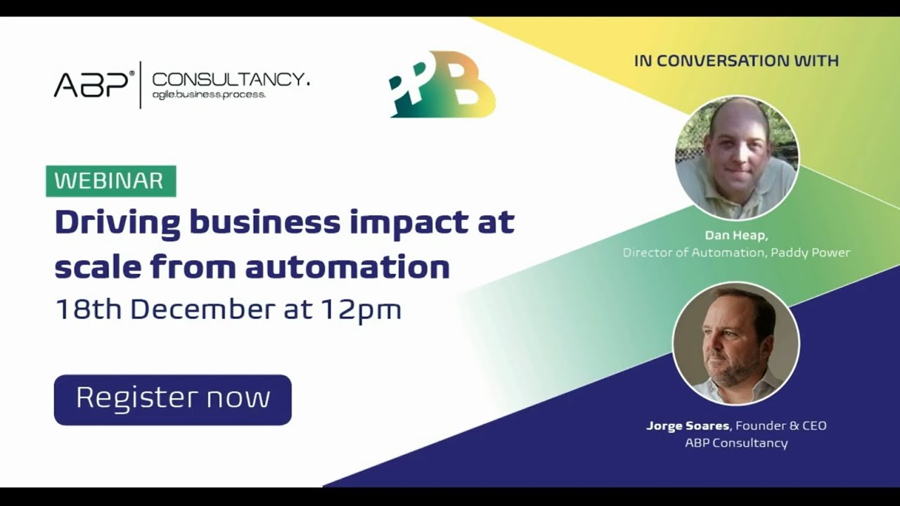 Driving business impact at scale from automation