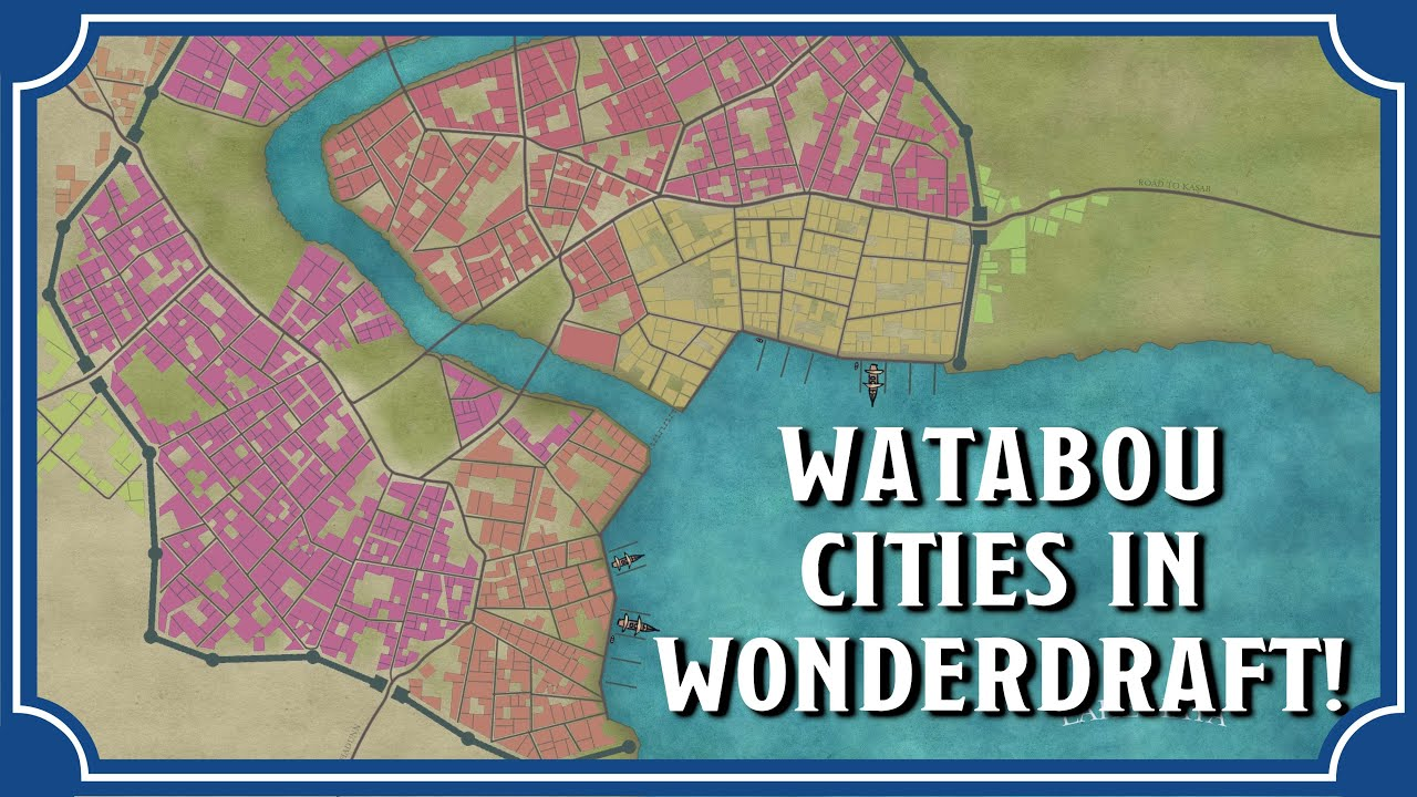 Watabou City Maps in Wonderdraft | Icarus Games