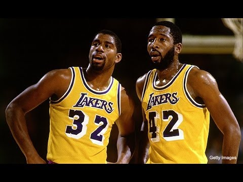 promo code 03021 a9a16 Magic Johnson & James Worthy: The Unknown Conflict