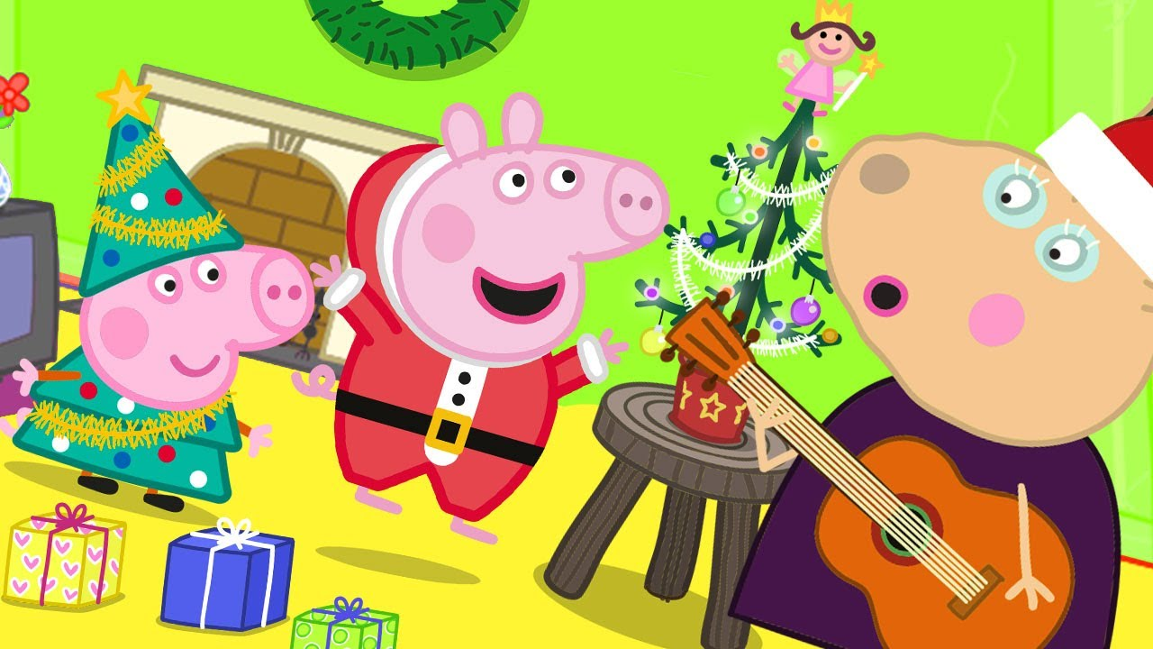 Download Peppa Pig Official Channel   Madame Gazelle's 'Tiny' Christmas Tree