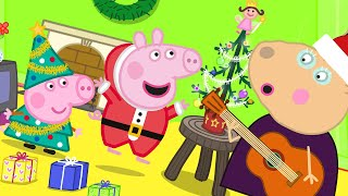 Peppa Pig Official Channel | Madame Gazelle's 'Tiny' Christmas Tree