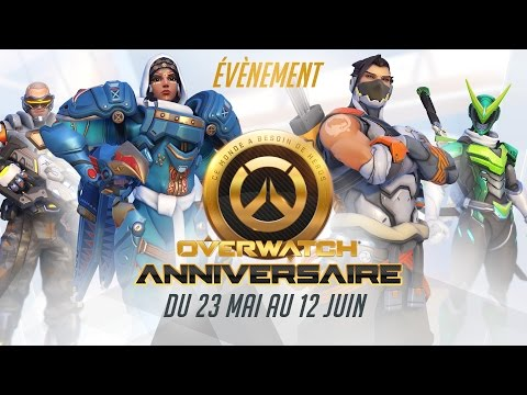 [Nouvel évènement saisonnier] Bienvenue à l'anniversaire d'Overwatch ! (FR)