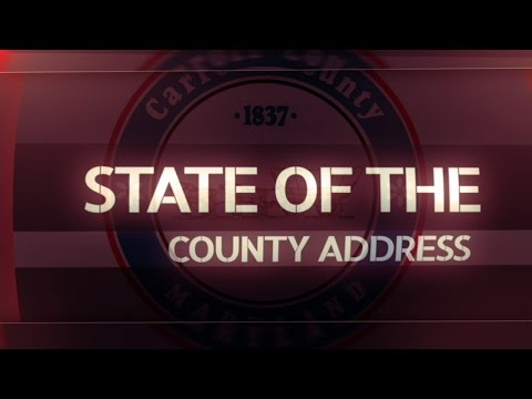 Carroll County Chamber of Commerce presents the 2016 State of the County Address