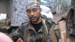Ополченцы Север и Цыган - интервью накануне гибели