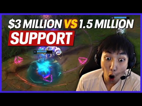$1.5M SUPPORT VS $3M SUPPORT, THE C9 VS TSM REVIEW | Doublelift