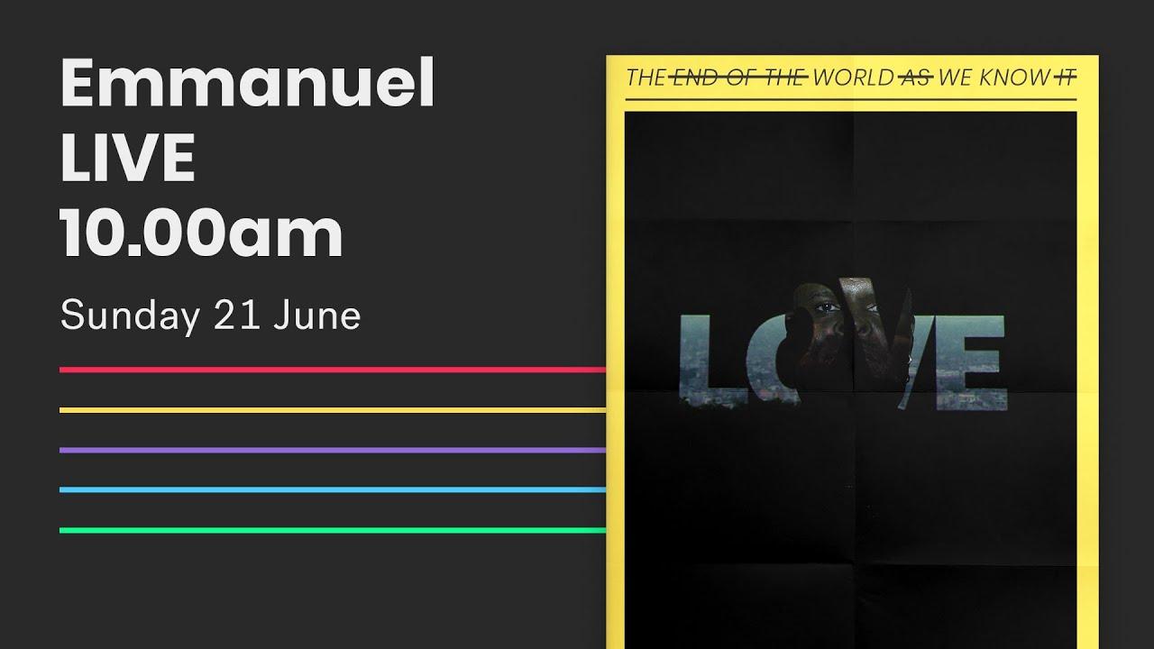 Emmanuel Live Online Service // 10am Sun 21 June 2020 Cover Image