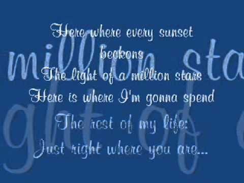 Wedding Song - As Long As I'm In Your Arms with lyrics