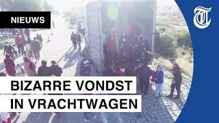 Tientallen migranten gevonden in vrachtauto in Turkije