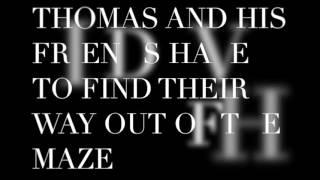 Maze runner book trailer by Jeremy & Quinn