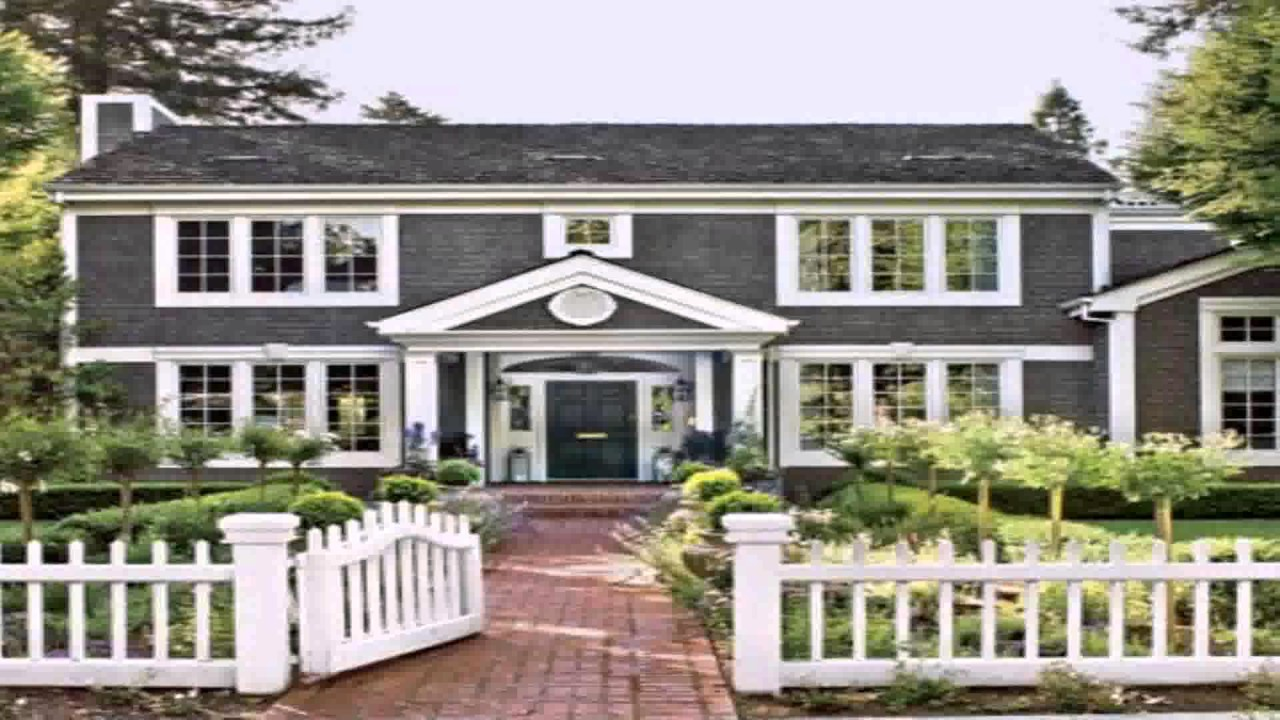 Colonial Style House Interior Design YouTube