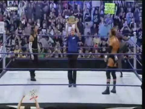 Jeff Hardy vs Triple H 2008 no mercy part 1