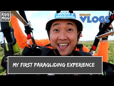 My First Paragliding Experience