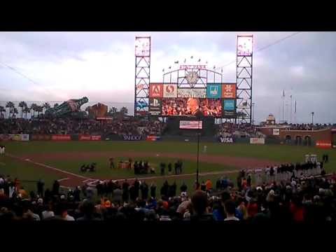 metallica national anthem at at t park 5 6 2016 youtube. Black Bedroom Furniture Sets. Home Design Ideas